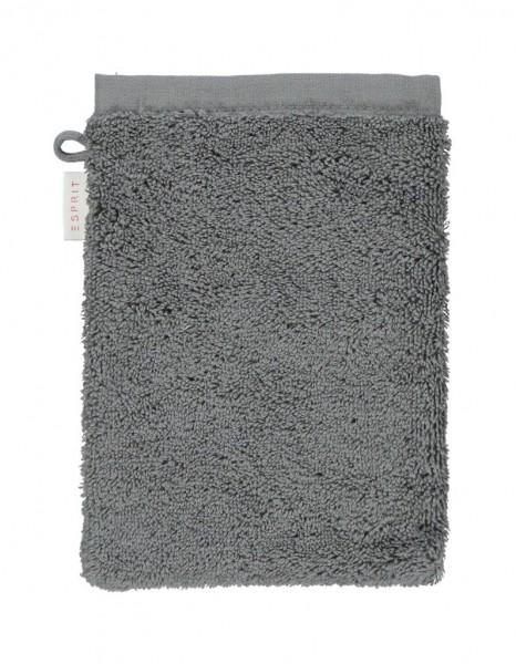 Esprit Waschhandschuh Solid anthracite