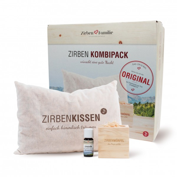 """Original ZirbenKombipack """"Gute Nacht Set"""""""