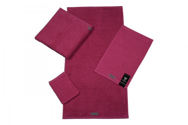 Ross Uni Smart Duschtuch Fuchsia