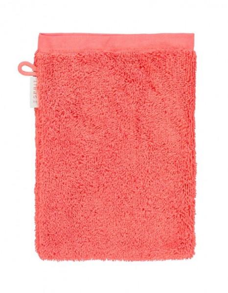 Esprit Waschhandschuh Solid cayenne