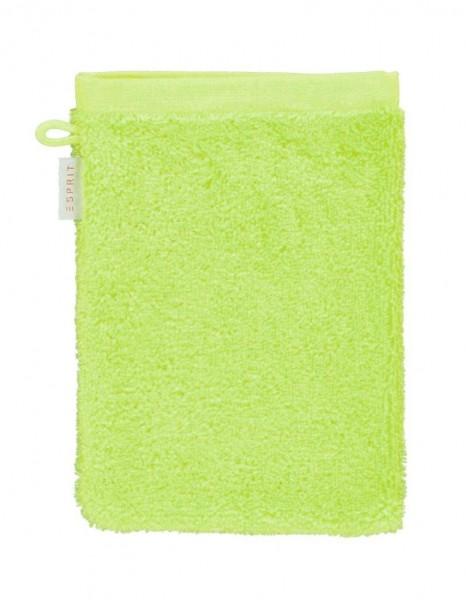 Esprit Waschhandschuh Solid lime